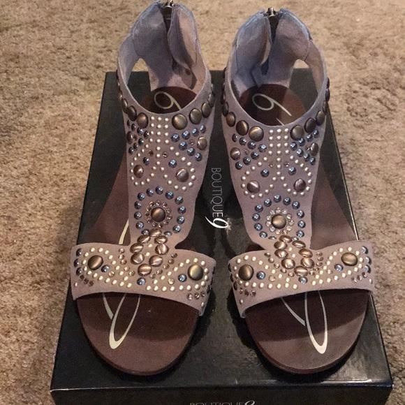 Boutique 9 Shoes - Boutique9 Embellished Gladitors